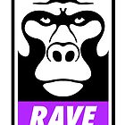 Rave Monkey  by tshirtbaba
