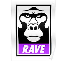 Rave Monkey  Poster