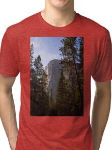 El Capitan in Yosemite National Park Tri-blend T-Shirt