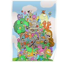 All Kinds of Critters Poster