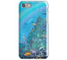 Undersea Castle iPhone Case/Skin