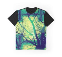 Harmonious Colors - Blue Green Yellow Graphic T-Shirt