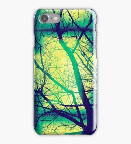 Harmonious Colors - Blue Green Yellow iPhone Case/Skin