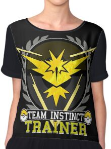 Team Instinct - Pokemon Go Chiffon Top
