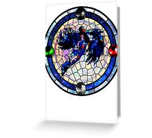Bayonetta 2: Stained Glass  Greeting Card