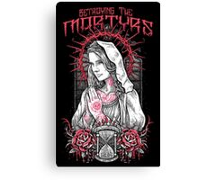 Betraying The Martyrs Prayer Canvas Print