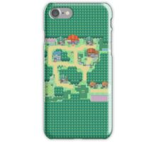 Pokemon Map iPhone Case/Skin