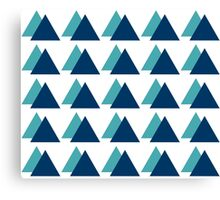 Triangle Forest Canvas Print