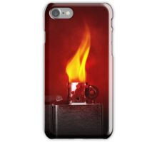 Zippo Lighter  iPhone Case/Skin