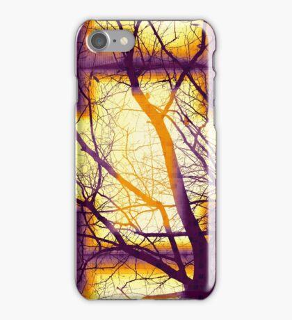 Harmonious Colors - Violet Yellow Orange iPhone Case/Skin