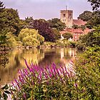 Aylesford from the south bank by Mortimer123