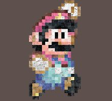 Mario World Jump Vintage Pixels Unisex T-Shirt