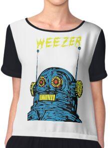 Weezer Monster Chiffon Top