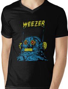 Weezer Monster Mens V-Neck T-Shirt