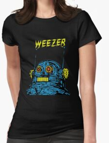 Weezer Monster Womens Fitted T-Shirt