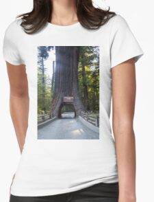 Chandelier tree Womens Fitted T-Shirt
