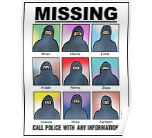Missing Muslims! Poster