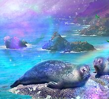 California SeaLions by Alixandra Mullins