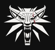 The White Wolf - The Witcher t-shirt / Phone case / Mug 2 Kids Tee