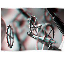 Exploding Clockwork #2 (3D) Poster