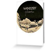 Pinkerton Weezer Greeting Card