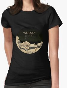 Pinkerton Weezer Womens Fitted T-Shirt