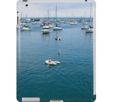 Monterey Bay Row Boat iPad Case/Skin