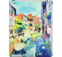 An Afternoon By The Canal iPad Case/Skin