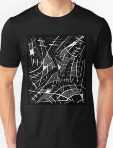 Gray abstraction Unisex T-Shirt