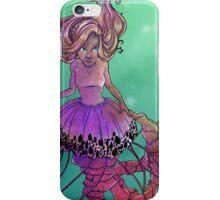 Black Sea Nettle Mermaid iPhone Case/Skin