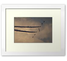 Sunderland Airshow 2016 (The Red Arrows) Framed Print
