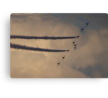 Sunderland Airshow 2016 (The Red Arrows) Canvas Print