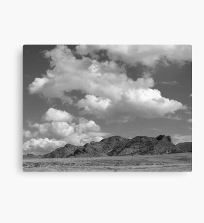 Snake Valley B&W Canvas Print