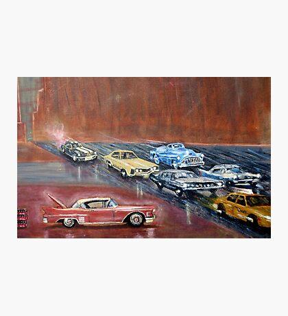 USA  CARS Photographic Print