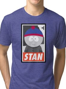 (CARTOON) Stan Tri-blend T-Shirt