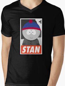 (CARTOON) Stan Mens V-Neck T-Shirt