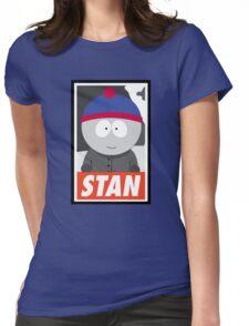 (CARTOON) Stan Womens Fitted T-Shirt