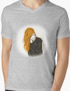 Orange hair  Mens V-Neck T-Shirt