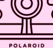 Polaroid camera Sticker