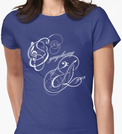 Symphony of Ages Womens Fitted T-Shirt