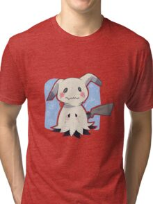 Sad Mimikkyu - Pokemon Tri-blend T-Shirt