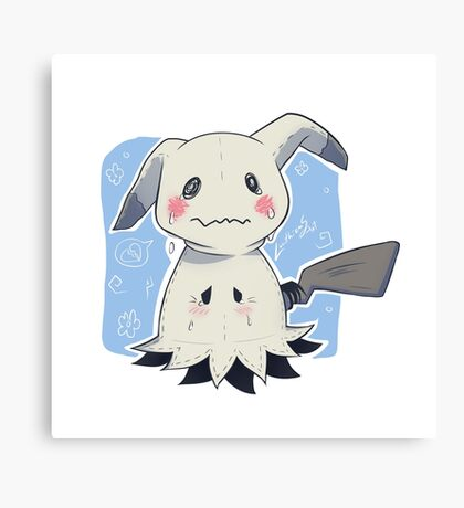 Sad Mimikkyu - Pokemon Canvas Print