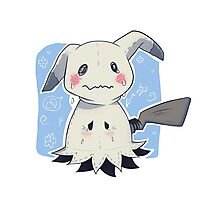 Sad Mimikkyu - Pokemon Photographic Print