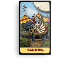 Taurus - from The Midway Arcana Metal Print