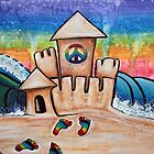 Hippie Sand Castle by Laura Barbosa