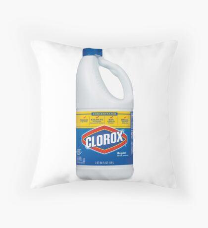 Clorox bleach Throw Pillow