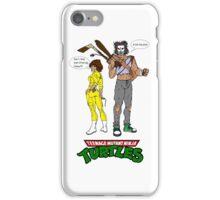 April O'Neil Casey Jones Ninja Turtles iPhone Case/Skin