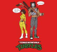 April O'Neil Casey Jones Ninja Turtles One Piece - Short Sleeve