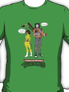 April O'Neil Casey Jones Ninja Turtles T-Shirt