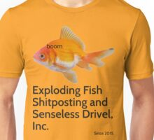 The Page, The Fish, The Legend. Unisex T-Shirt